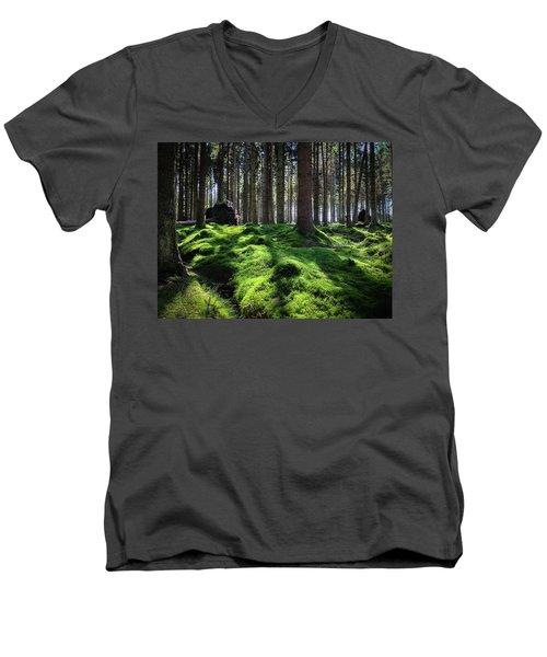 Forest Of Verdacy Men's V-Neck T-Shirt