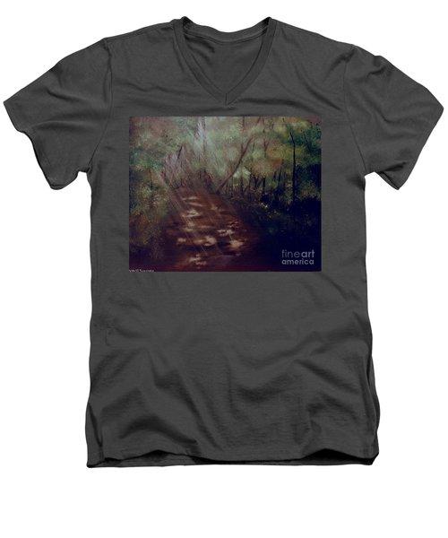 Forest Rays Men's V-Neck T-Shirt