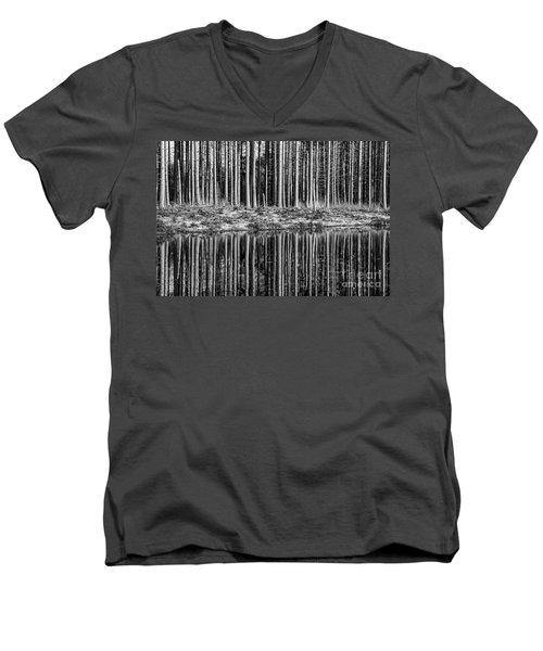 Forest Reflections Men's V-Neck T-Shirt