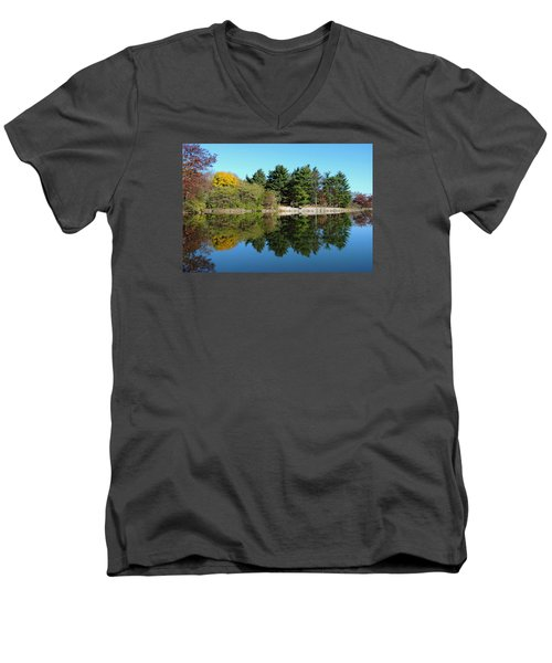 Forest Reflections Men's V-Neck T-Shirt