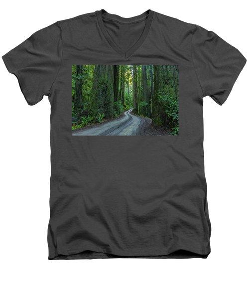 Forest Road. Men's V-Neck T-Shirt