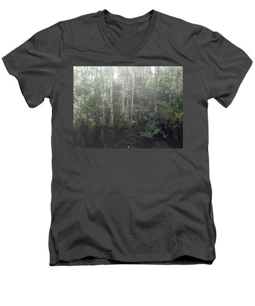 Forest, Sun Swamp Men's V-Neck T-Shirt