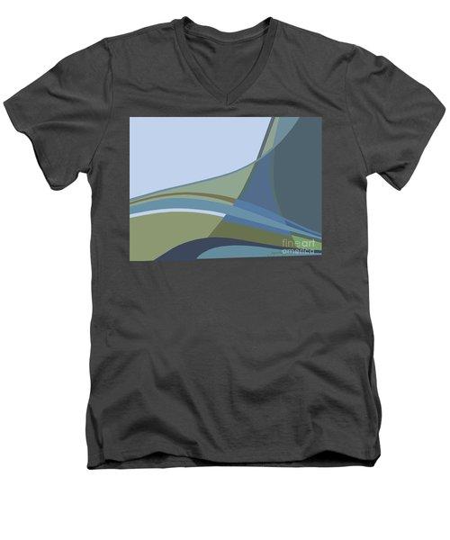 Forest View Men's V-Neck T-Shirt