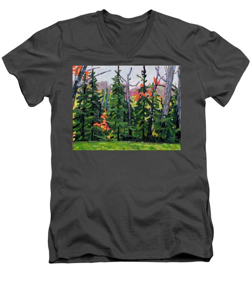 Forest Wall Men's V-Neck T-Shirt