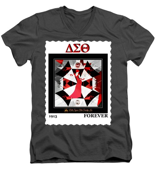 Forever Delta  Men's V-Neck T-Shirt