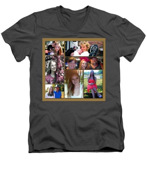 Forever Moments Men's V-Neck T-Shirt