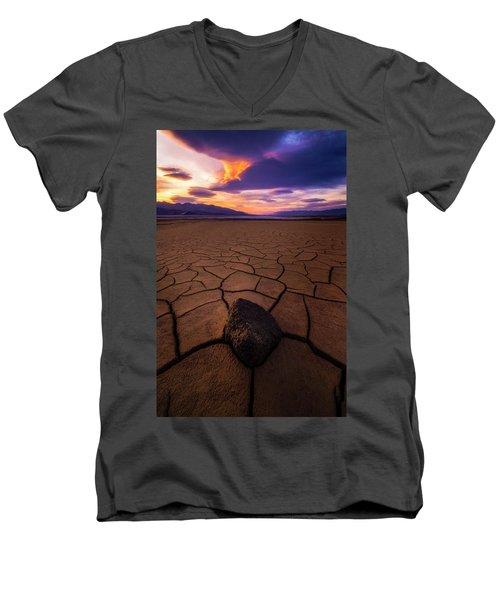 Forever More Men's V-Neck T-Shirt by Bjorn Burton