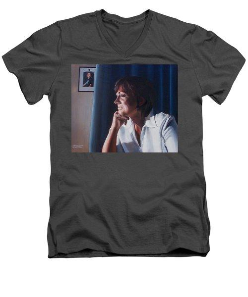 Forever Young Men's V-Neck T-Shirt