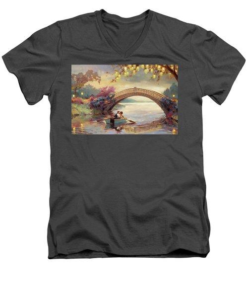 Forever Yours Men's V-Neck T-Shirt
