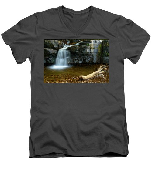 Forged By Nature Men's V-Neck T-Shirt