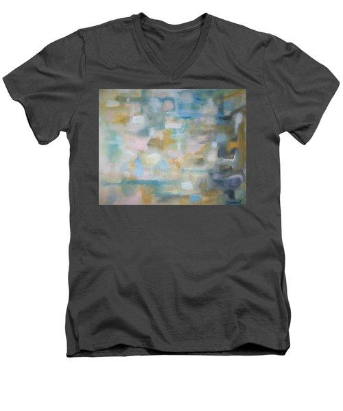 Forgetting The Past Men's V-Neck T-Shirt by Raymond Doward