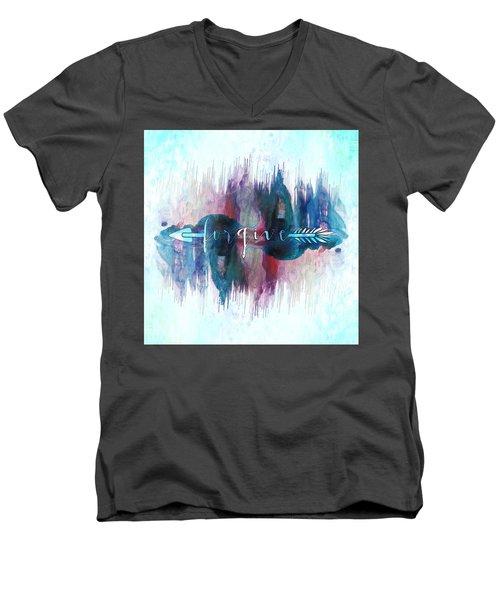 Forgive Arrow Men's V-Neck T-Shirt