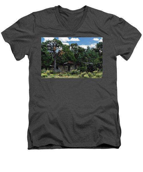 Forgotten Homestead - 8783 Men's V-Neck T-Shirt