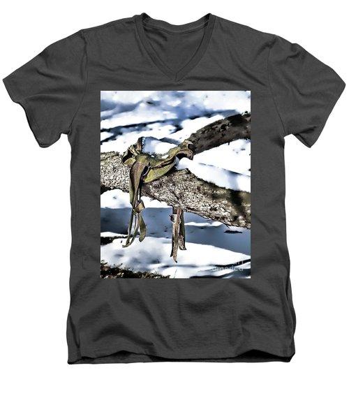Forgotten Saddle Men's V-Neck T-Shirt
