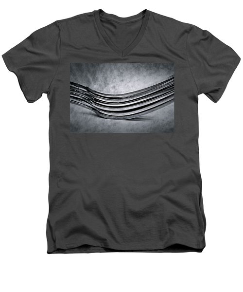 Forks - Antique Look Men's V-Neck T-Shirt