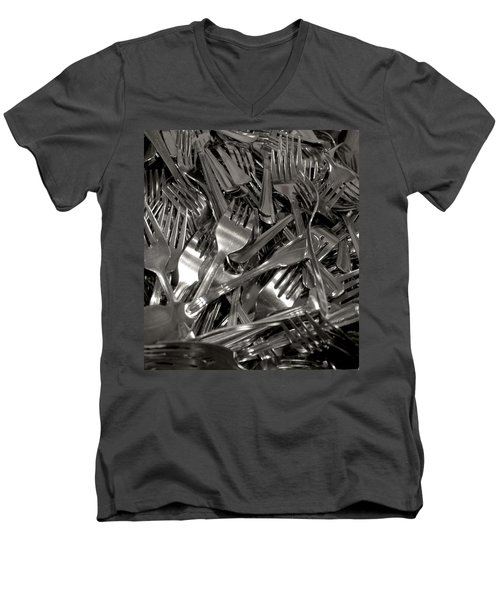 Forks Men's V-Neck T-Shirt