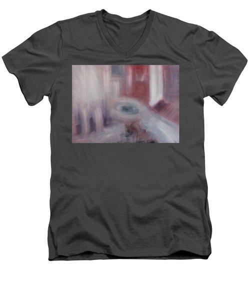 Form And Content Men's V-Neck T-Shirt