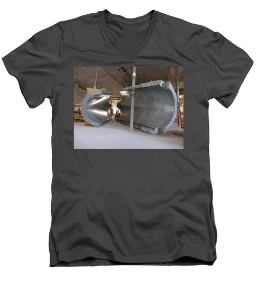 Formwork Men's V-Neck T-Shirt