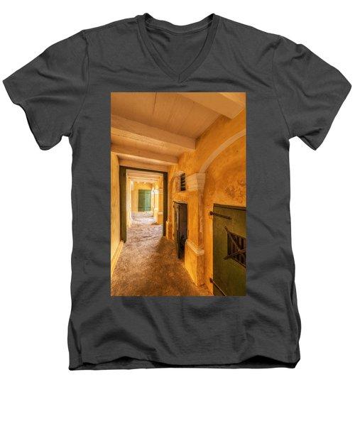 Fort Christianson Men's V-Neck T-Shirt