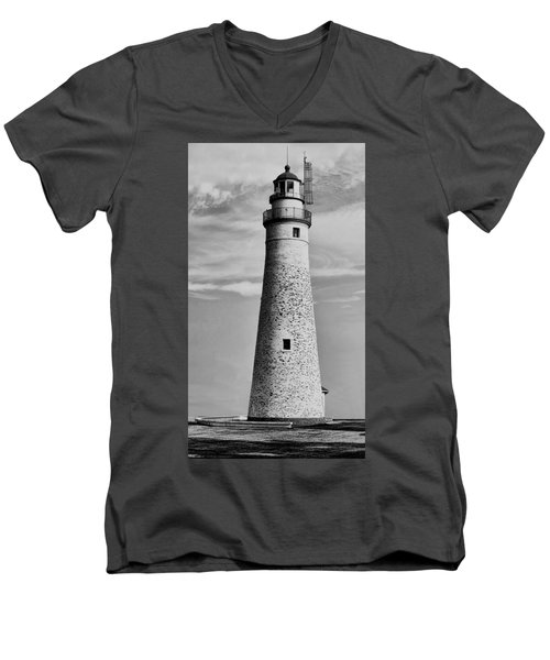 Fort Gratiot Lighthouse Men's V-Neck T-Shirt