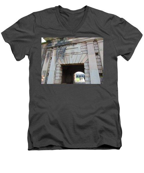 Fort Morgan Men's V-Neck T-Shirt