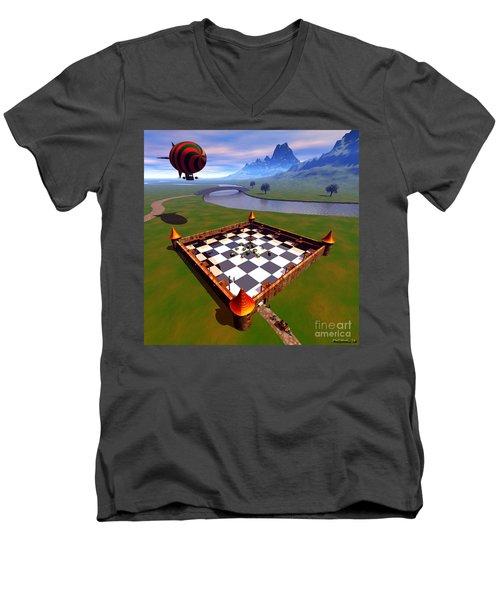 Fort Nuggets 1 Men's V-Neck T-Shirt