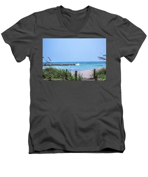 Fort Pierce Inlet Men's V-Neck T-Shirt