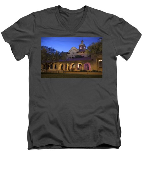 Fort Worth Livestock Exchange Men's V-Neck T-Shirt