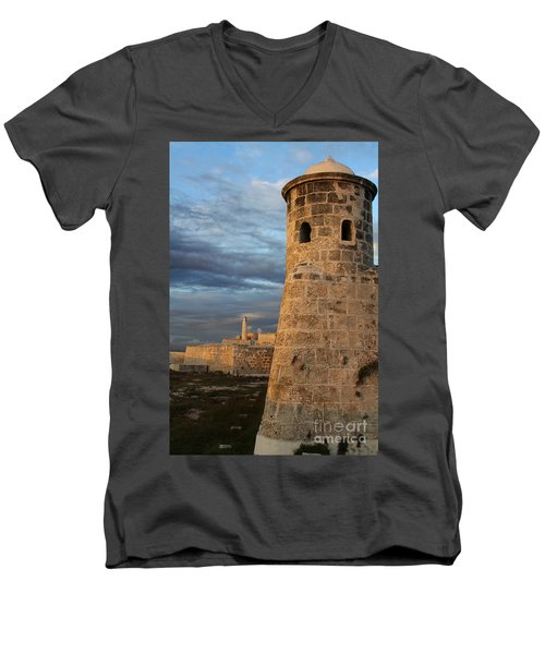 Fortress Havana Men's V-Neck T-Shirt