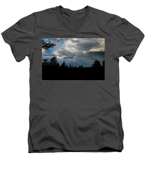 Fortunate Glimpses Men's V-Neck T-Shirt