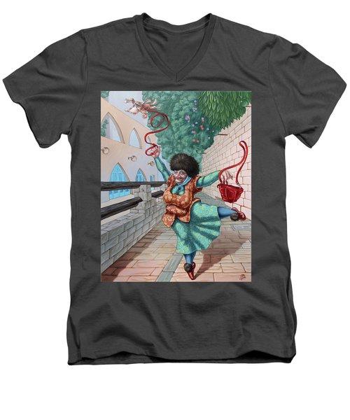 Fouette Men's V-Neck T-Shirt