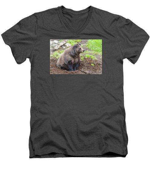 Found A Hole Men's V-Neck T-Shirt