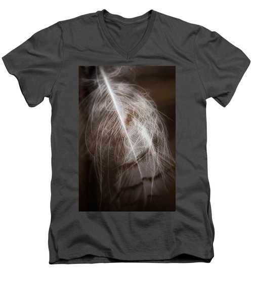 Found Feather Men's V-Neck T-Shirt