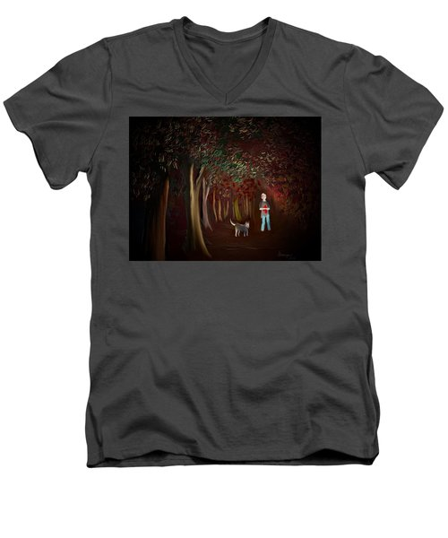 Found II Men's V-Neck T-Shirt