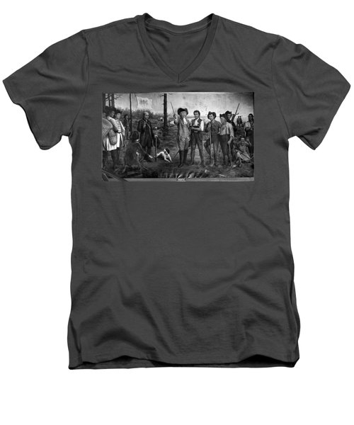 Founding Of New Orleans Men's V-Neck T-Shirt