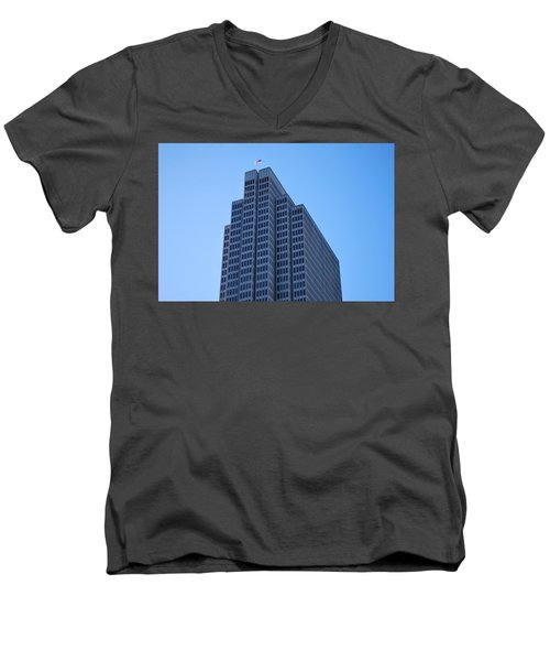 Four Embarcadero Center Office Building - San Francisco Men's V-Neck T-Shirt