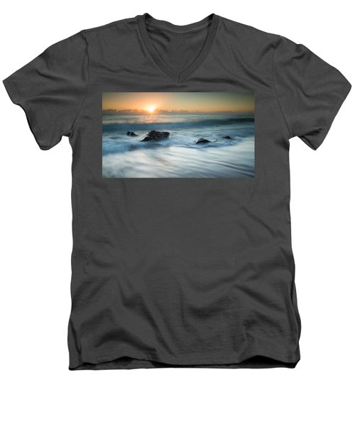 Four Rocks Men's V-Neck T-Shirt