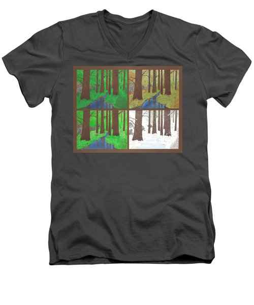 Four Seasons Men's V-Neck T-Shirt