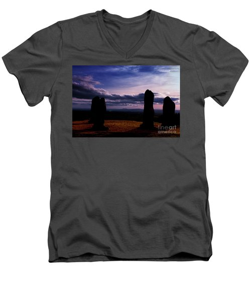 Four Stones Clent Hills Men's V-Neck T-Shirt