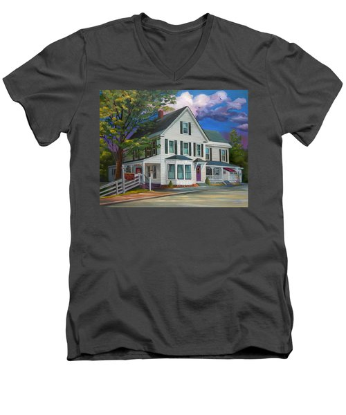 Fournier Funeral Home Men's V-Neck T-Shirt