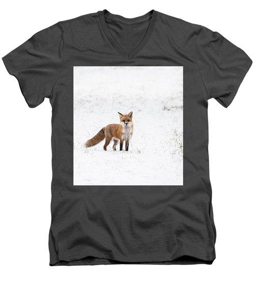 Fox 1 Men's V-Neck T-Shirt