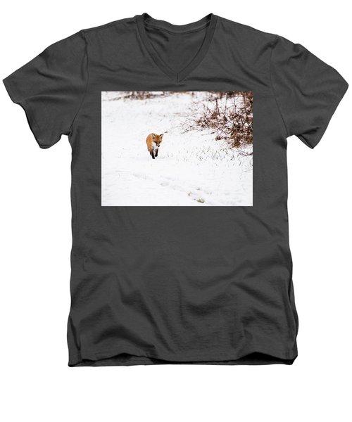 Fox 2 Men's V-Neck T-Shirt