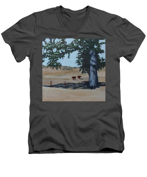 Fox Canyon Ranch Men's V-Neck T-Shirt