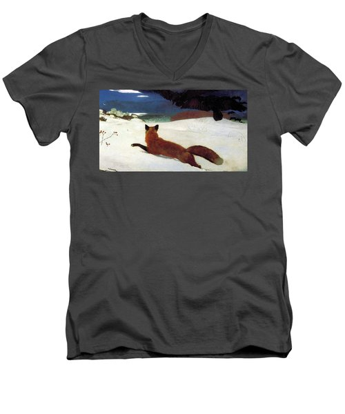 Fox Hunt Men's V-Neck T-Shirt