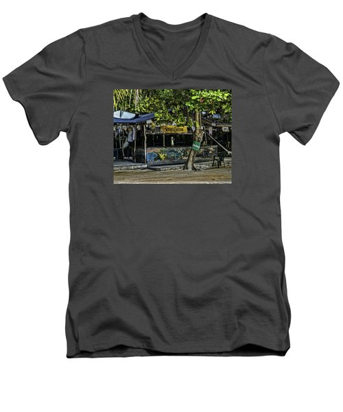 Foxy's On Jost Van Dyke Men's V-Neck T-Shirt