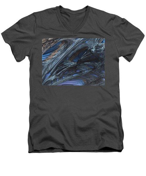Fractal Structure 002 Men's V-Neck T-Shirt