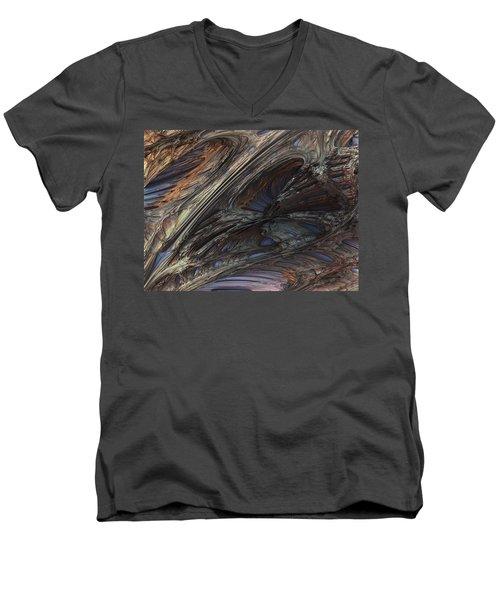 Fractal Structure 005 Men's V-Neck T-Shirt