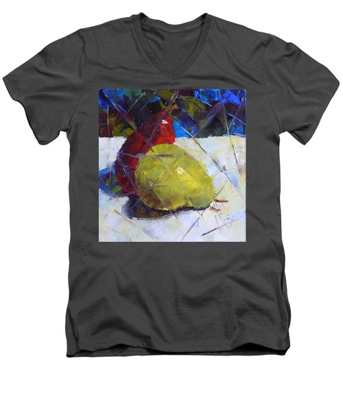 Fractured Pears Men's V-Neck T-Shirt by Susan Woodward