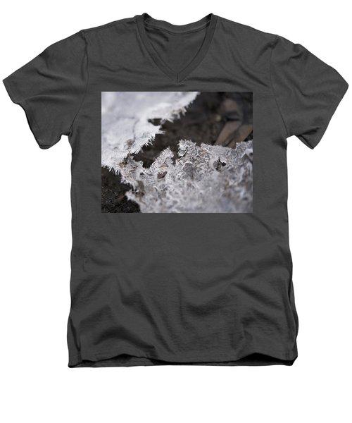 Fragmented Ice Men's V-Neck T-Shirt