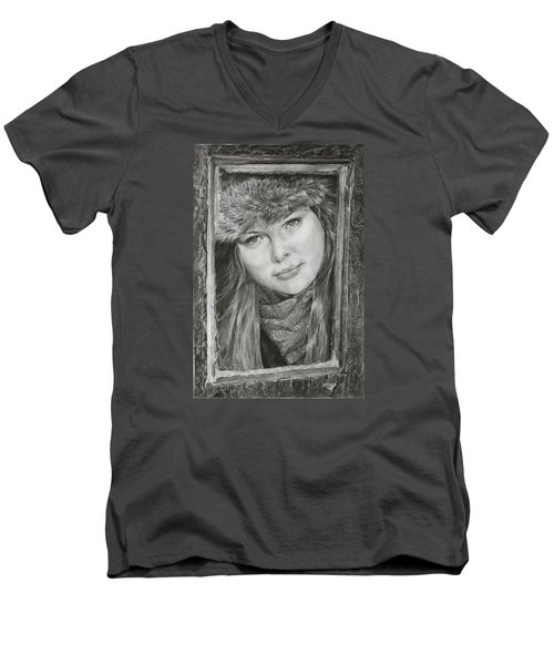 Framed - After Maureen Killaby Men's V-Neck T-Shirt